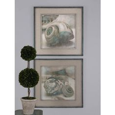 Shop for Uttermost John Seba 'Coastal Gems' 2-piece Framed Canvas Art Set. Get free delivery at Overstock.com - Your Online Art Gallery Store! Get 5% in rewards with Club O!