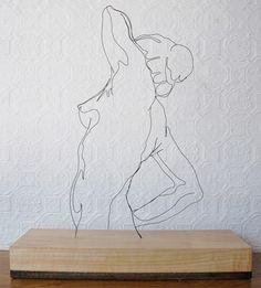 Gavin Worth - wire art
