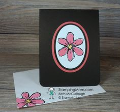 StampinUp Garden in Bloom All Occasion card designed by demo Beth McCullough. Please see more card and gift ideas at…