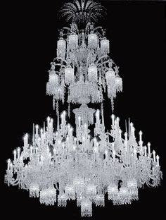 a monumental and magnificent crystal chandelier by baccarat the mayfair gallery london the mayfair gallery london baccarat zenith arm black crystal chandelier