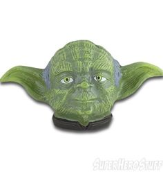 Star Wars Yoda Head Belt Buckle