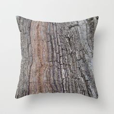 """Throw Pillow / Indoor Cover (16"""" X 16"""") • 'Bark' • IN STOCK • $20.00 • Go to the store by clicking the item."""