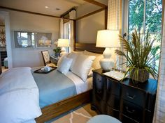HGTV Dream Home 2013: Master Suite Bedroom Pictures : Dreamhome : HGTV.  I actually like this for the Mon. house if we remodel it