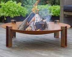 Fire Pit Maar d'acier / solide acier extérieure chauffage / chauffage de jardin