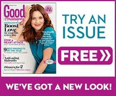 FREEBIE ALERT!!  FREE ISSUE OF GOOD HOUSEKEEPING!! LIKE, COMMENT, SHARE  CLICK HERE:http://couponshopaholic.net/?p=14475