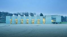 Learning center campus de l'UVSQ (Versailles - 78), par BADIA BERGER Architectes