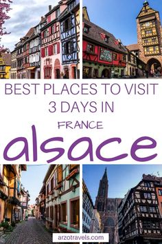Check out this Alsace itinerary to find out more about a fun Wine Tour road trip - the best places to visit in Alsace in 3 days (road trip). European Destination, European Travel, European Vacation, Alsace, Corsica, Aquitaine, Toulouse, Cool Places To Visit, Places To Travel