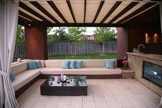 Backyard Playground contemporary patio
