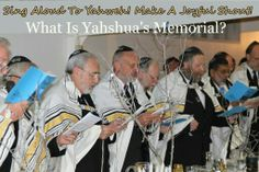 Learn about Yahshua's Memorial.  HTTPS://WWW.Facebook.com/officialhouseofyahweh