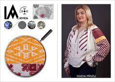 Romanian shirt hand-made by Minzu Nadia for the Ia Aievea project. *** Camasa cusuta de Minzu Nadia pentru proiectul Ia Aievea dupa un izvod de la Muzeul National al Taranului Roman. Roman