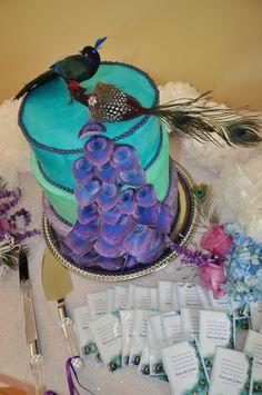 Our Organic Peacock Wedding Cake! Peacock Wedding Cake, Wedding Cakes, Peacock Bedding, Cupcake Cakes, Cupcakes, Bbq Ideas, Unique Cakes, Festival Wedding, Special Day
