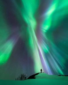 Northern lights,Norway