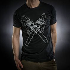 Serial Popers Black T-shirtChainsawSol's teeRegent