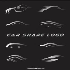 Logotipos do carro definida