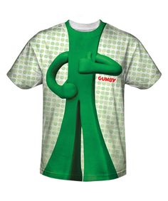 Look at this Green Gumby Tee - Men on #zulily today!