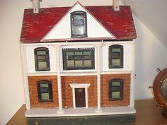 G-J-Lines-antique-1915-dolls-house  Rick Maccione-Dollhouse Builder www.dollhousemansions.com