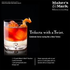 Celebrate #HorseRacing the #Belmont way with this delicious twist on a #classic #trackside  #cocktail.