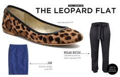 5 Footwear Styles to Get You Through Fall and Winter: The Leopard Flat