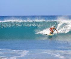 Surfing at Crystal Beach Resort, San Narciso, Zambales