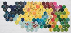 Bee Hive #bee #colour #thorns #hive #hexagon Flourish, Bee, My Arts, Symbols, Paper, Plants, Colour, Color, Honey Bees