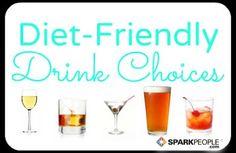 Diet-Friendly Alcohol Choices via @SparkPeople