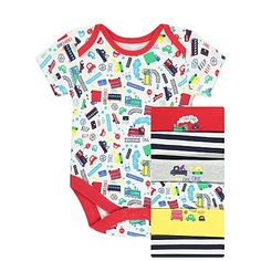 7 Pack Assorted Bodysuits | Baby | George
