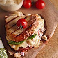 Tuna and White Bean Panini Recipe