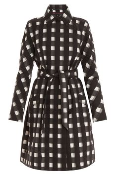 Check Trench Coat By MARTIN GRANT @ http://www.boutique1.com/