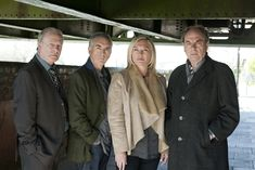 Nieuwe cast New Tricks New Tricks, Raincoat, It Cast, Blazer, Film, Jackets, Men, Mystery, Fashion