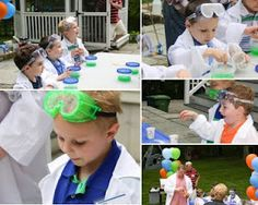 some great science party ideas