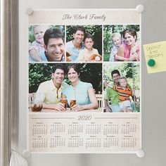 Our personalized calendars help you to stay organized in style. Design and create your own unique calendars in a variety of styles at Personalization Mall. Photo Collage Board, Collage Foto, Make A Calendar, Family Calendar, Calendar Ideas, Calendar 2020, Custom Photo Calendar, Personalised Calendar, Family Collage