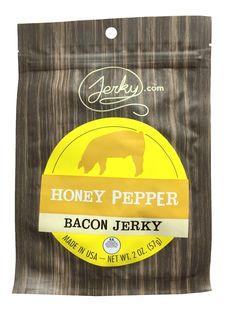 Bacon Jerky, Pork Jerky, Best Jerky, Real Honey, Sugar Love, Thick Cut Bacon, Best Bacon