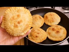 mix flour and cheese! You can't stop eating them! 10 minutes for delicious recipe ! - YouTube Snacks To Make, Food To Make, Snack Recipes, Dessert Recipes, Cooking Recipes, Dinner Recipes, 2 Ingredient Pizza Dough, Cant Stop Eating, Good Food