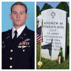HERO OF THE DAY: Army Captain Andrew M. Pedersen-Keel of South Miami, Florida died at age 28 on March 11, 2013 in Jalrez district, Afghanistan, of small-arms fire from an Afghan security forces member. He was assigned to the 1st Battalion, 3rd Special Forces Group (Airborne), Fort Bragg, N.C. Follow me :➡ @usarmy_lovers_insta For More . . . . ➖ Visit our shop to buy USARMY, USNAVY, Military T-SHIRTS, Hoodies, Legging, Mugs... Updating... ➡ Click the link in my bio ( @usarmy_lovers_in...