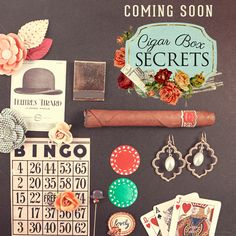 Cigar box secret - Prima Marketing giveaway! This is definitely one I would love to have!
