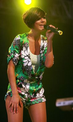 Frankie Sandford At The Isle Of Wight Festival, 2010