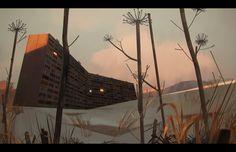 53 fantastiche immagini su environments environment concept art