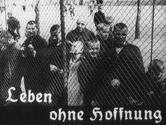 """A origem dessa imagem é um filme produzido pelo Ministério da Propaganda do Reich. Ela mostra pacientes em um asilo não identificado. O estado deles é descrito como uma """"vida sem esperanças."""" Os nazistas tentavam, através da propaganda, gerar apoio público para o Programa de Eutanásia."""