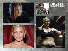 Gender Swapped Lord Of The Rings Casting Is Perfection  Katee Sackhoff as Samwise Gamgee  she is almost too badass