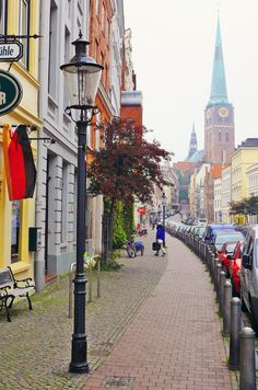 Lübeck (Schleswig-Holstein), Germany. One of my favorite cities in Germany with wonderful memories of my husband & I spending time there. My 1st and last driving experience on the Autobahn