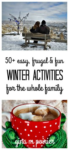 fun winter activities   cheap   easy   families   kids   adults