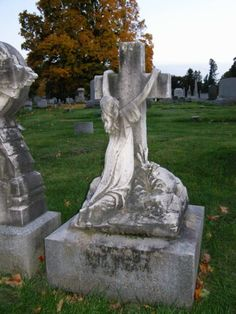 Cemetery in Menands, New York
