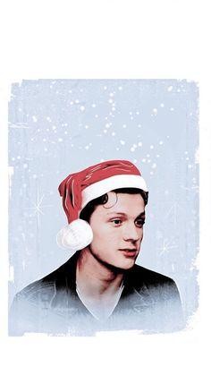 Tom Holland. Happy holidays!