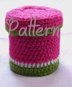 Crochet box pattern - pdf file