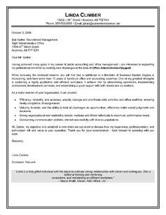 cover letter example for executive assistant
