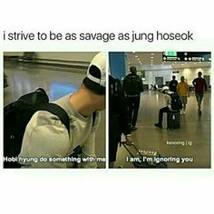 You can only be that savage to people you consider your family members. This is proof bangtan members are very close