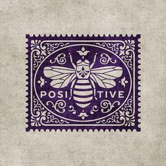 Vintage Lavender Bee Stamp LDS Mormon Latter Day SaintYou can find Vintage art and more on our website.Vintage Lavender Bee Stamp LDS Mormon Latter Day Saint Bee Images, 1 Tattoo, Bee Art, Bee Design, Bee Happy, Save The Bees, Bees Knees, Queen Bees, Bee Keeping