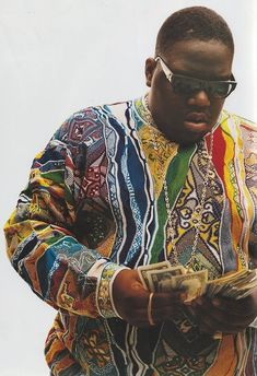 The late Hip Hop legend Biggie Smalls