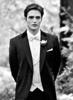 Robert Pattinson as Edward Cullen. (Breaking Dawn: Part 1)