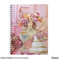 Shades of Pink Note Books